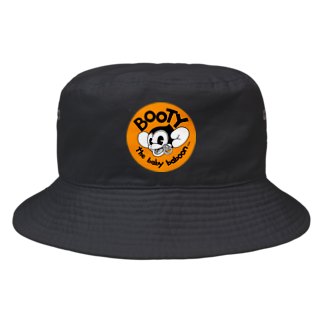 Booty the baby baboonのvery happy new year♪ Bucket Hat