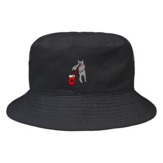 花くまゆうさくの血液型(A)をさりげなく申告 Bucket Hat