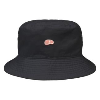 生肉のお帽子 Bucket Hat