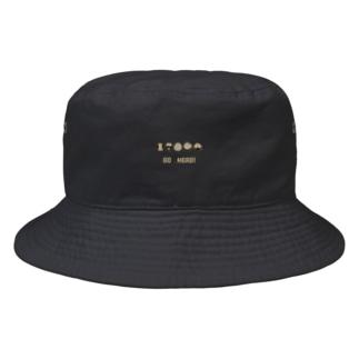 GO A HEAD! (モカ/ベージュ) Bucket Hat