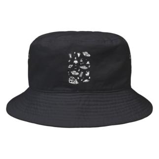 純喫茶 モノクロ Bucket Hat
