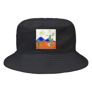 クマバチとメキシカンタイル Bucket Hat