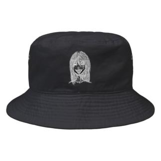 口内炎が治らない。 Bucket Hat