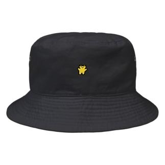くまくま。はちみつフレーバー(りんごの花) Bucket Hat