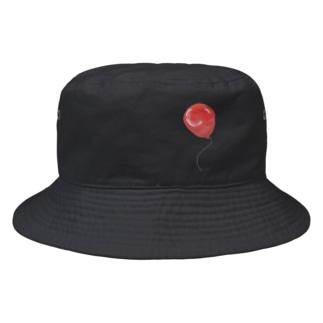 赤い風船 Bucket Hat