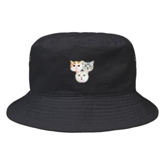 ローテーション彼女。両面 Bucket Hat