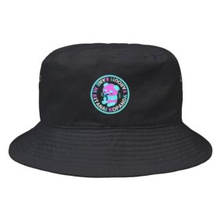 金に汚い子パンダ野郎変色 Bucket Hat