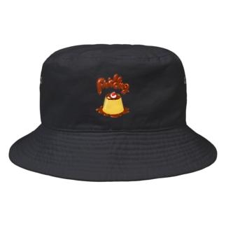 Slow Typingのpudding プリン 035 Bucket Hat