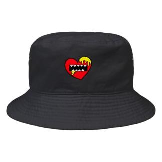 暴食ハート:英字なし Bucket Hat