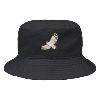 しまのなかま カンムリワシ(あやぱに) Bucket Hat