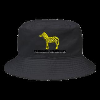 TRAUMATIC RECORDINGSのTRAUMATIC RECORDINGS HAT Bucket Hat