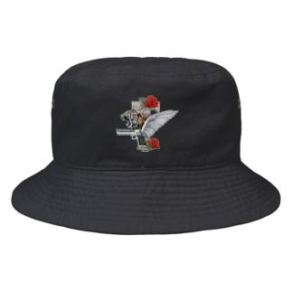 GUN & ROSE EMBLEM Bucket Hat