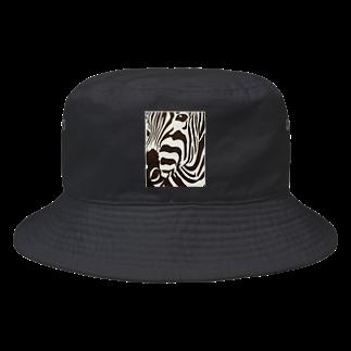 RaysのZeebra Bucket Hat
