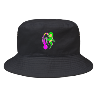 mizumotoxmarioのうねうね Bucket Hat