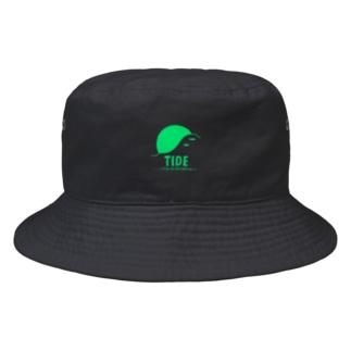 """TIDE """"GREEN"""" Bucket Hat"""