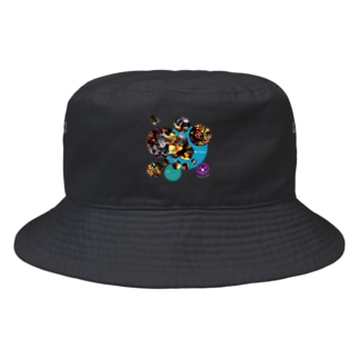 ca37_瀑_justice Bucket Hat