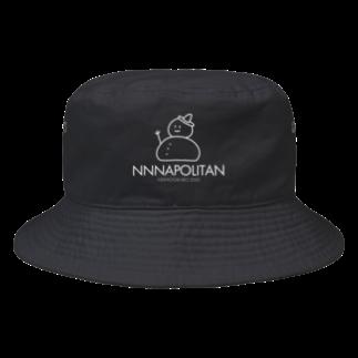 NNN THE SHOPのNNN WHITE Bucket Hat