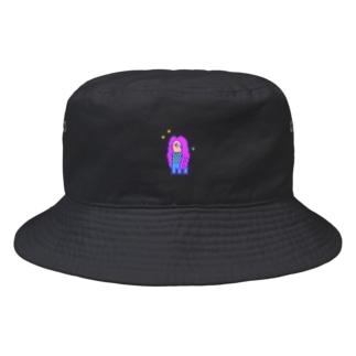 PIXELアマビエ Bucket Hat