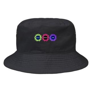 毒ドーナツ 3種盛り Bucket Hat