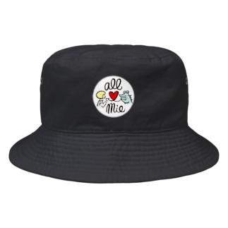 オール三重/ワニくん Bucket Hat