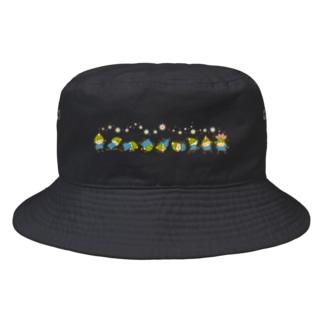 でんぐり返し Bucket Hat