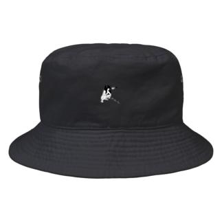 peequod×小骨トモ コラボ Bucket Hat