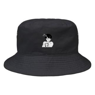 peequodのpeequod×小骨トモ コラボ Bucket Hat