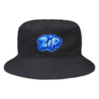 zip ジップ 123 Bucket Hat