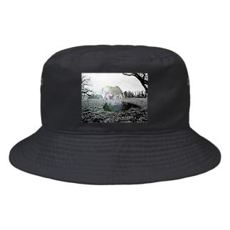 (公財)ハーモニィセンター チャリティグッズ セナ Bucket Hat