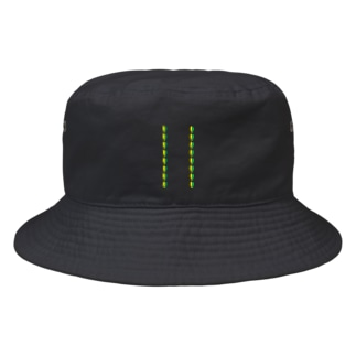 初心者魚バケットハット Bucket Hat