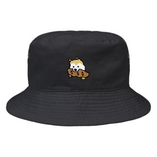 パンをくわえた犬① Bucket Hat