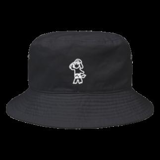 D.PantsのD.Pants9白 Bucket Hat