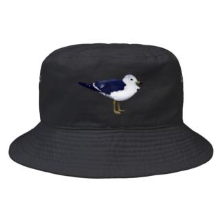 シンプルなカモメ Bucket Hat