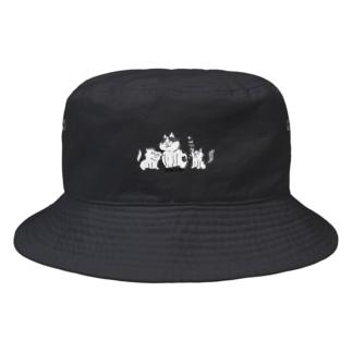 猫遊亭一門 Bucket Hat