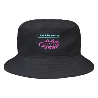 ネオン シーラカンス Bucket Hat