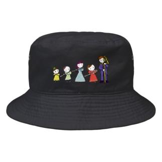 フルートファミリーwith男子 Bucket Hat