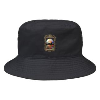 CATCH ME IF YOU CAN -golden- Bucket Hat