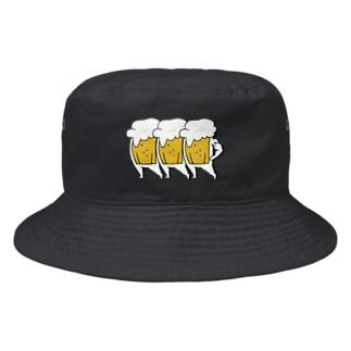 さくら もたけの踊るビールSTEP2 Bucket Hat