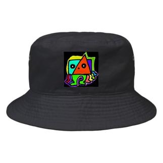 テケテケのテケ Bucket Hat