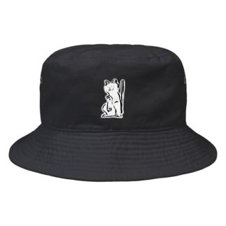 まねくねこ Bucket Hat