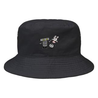 ボルトナットマンうさぎ Bucket Hat