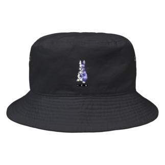 両手で描いたウサギ Bucket Hat
