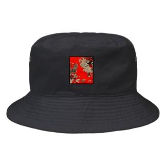 虫柄 Bucket Hat