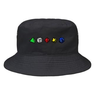 ダイスロール Bucket Hat