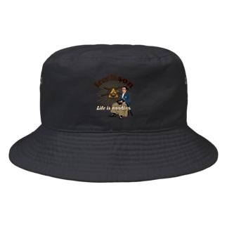 フリー麺ソン 龍馬 Bucket Hat