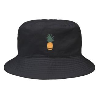 【バーコード・パイナップル】 バケットハット Bucket Hat