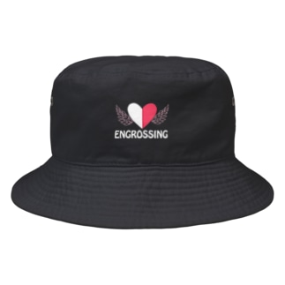 イングロスィングホワイト Bucket Hat