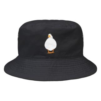 まるまるアヒルさん Bucket Hat