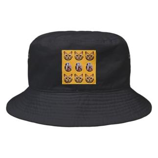 専chanと肉球 Bucket Hat