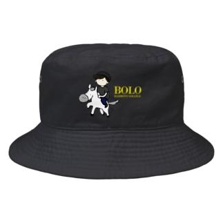 HarmonyCollege_Osyan-T-shirtのBOLOBOY(kiiro) Bucket Hat